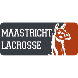 Maastricht Lacrosse Logo(grey:red)